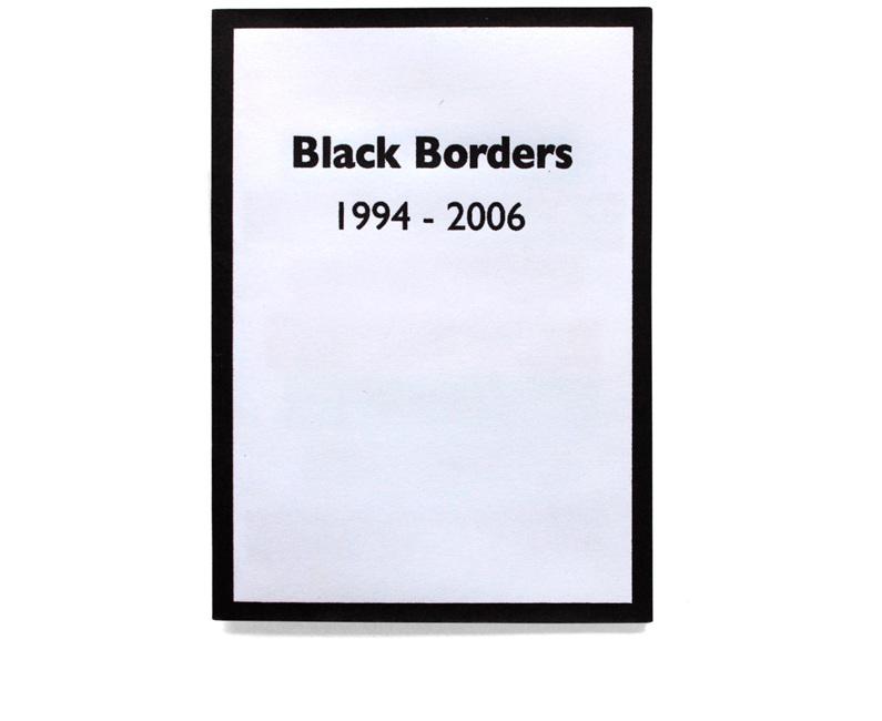 Black Borders Alison Turnbull